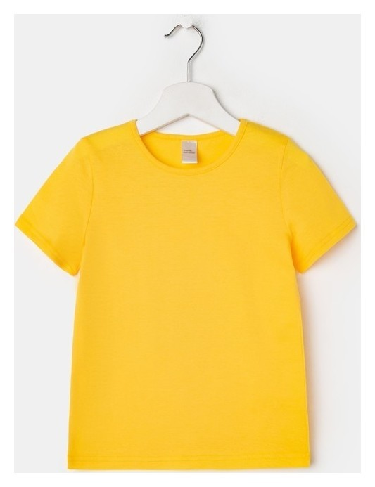 Футболка детская, цвет жёлтый рост 146 см  Флора