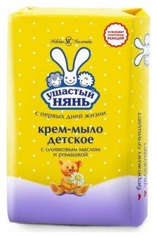 Детское крем-мыло с с оливковым маслом и ромашкой