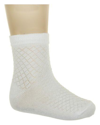 Носки детские, цвет белый, размер 11-12  Носкофф