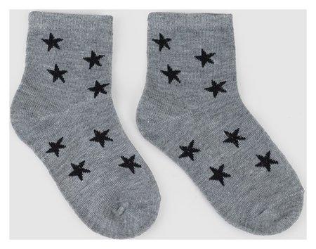Носки детские Ft-641-m-12 цвет серый, р-р 20-22  Happy frensis