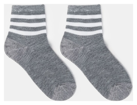 Носки детские, цвет серый, р-р 16-18  Happy frensis