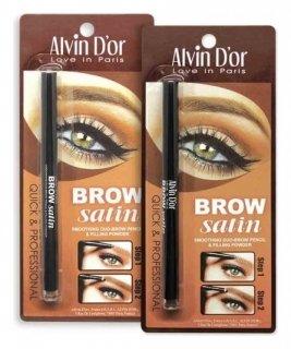 Пудровый карандаш для бровей  Alvin D'or