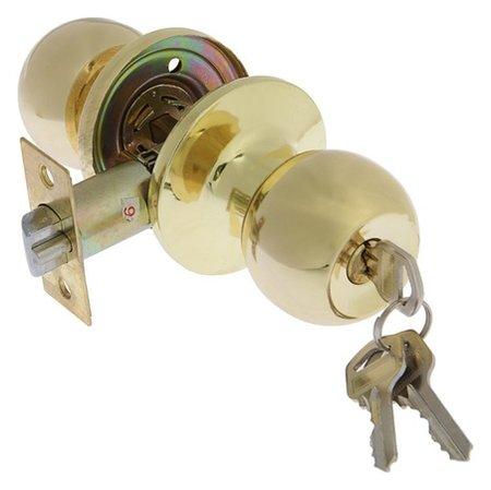 Защелка 1303, с ключом, цвет золото  NNB