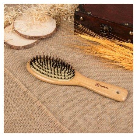 Расчёска массажная Бамбук, натуральная щетина  Meizer