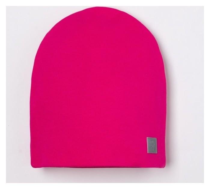 Шапка для девочки, цвет фуксия, размер 46-50  Hoh loon