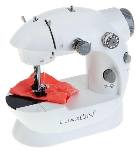 Швейная машинка Luazon Lsh-02, белый  LuazON