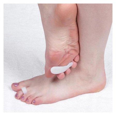 Полустельки для обуви, на палец, силиконовые, 6 × 2 см, пара  NNB