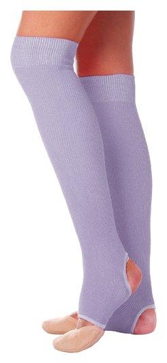 Гетры для танцев №5, без носка и пятки, L= 50 см, цвет сиреневый  Grace dance