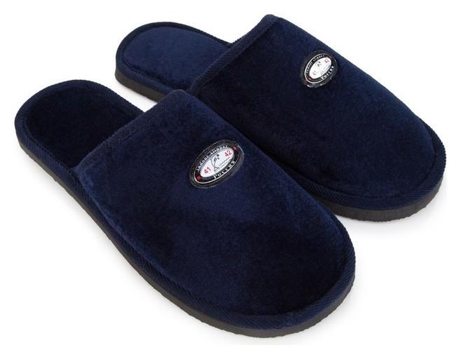 Тапочки мужские, цвет тёмно-синий, цвет размер 44/45  NNB