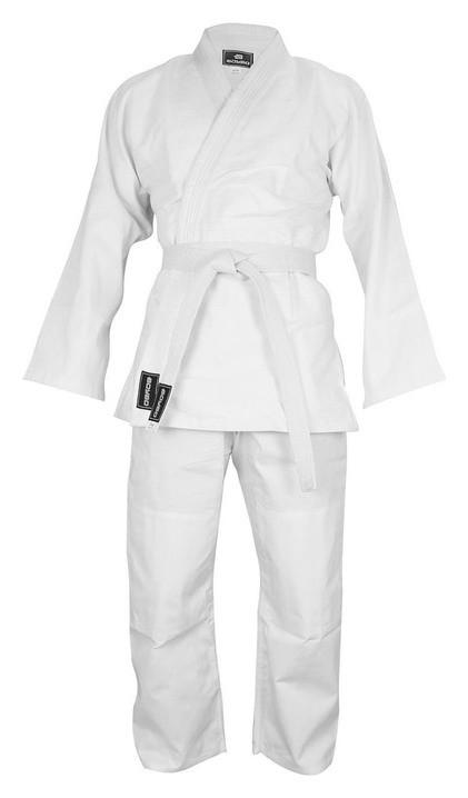 Кимоно дзюдо 425 гр/м Boybo, цвет белый, рост 130  Boybo