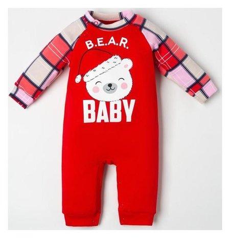 "Комбинезон крошка Я ""Bear"", рост 62-68 см  Крошка Я"