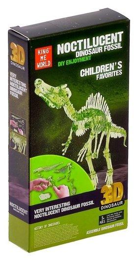 Пазл 3D «Спинозавр», светится в темноте  NNB