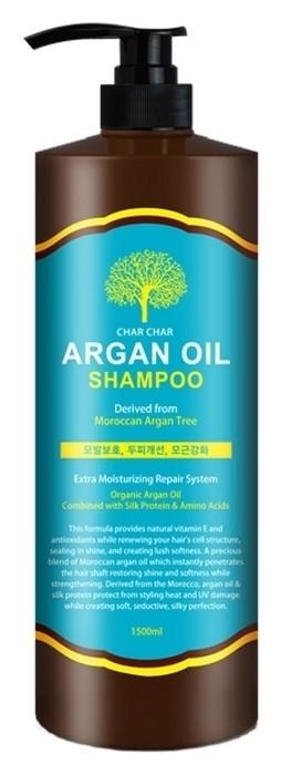 Шампунь для волос с аргановым маслом Char Char Argan Oil Shampoo  Evas