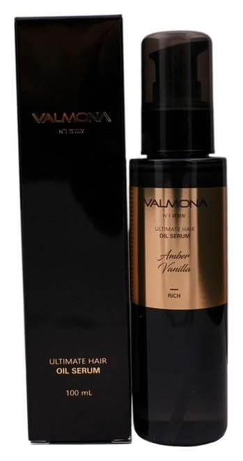 Сыворотка для волос с ароматом ванили Valmona Ultimate Hair Oil Serum Amber Vanilla  Evas