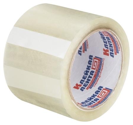 Клейкая лента упаковочная 75мм х 66м 47мкм прозрачная россия  NNB