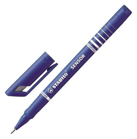 Линер Stabilo Sensor 189/41 0,3мм синий германия  Stabilo