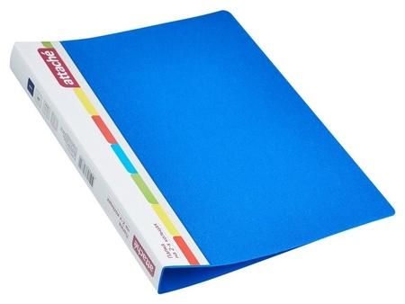 Папка на 2-х кольцах пласт. 17/32мм А4 Attache F502/07 синяя Ро  Attache