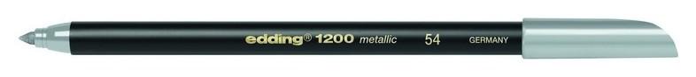Фломастер металлик,серебряный,edding,1200  Edding