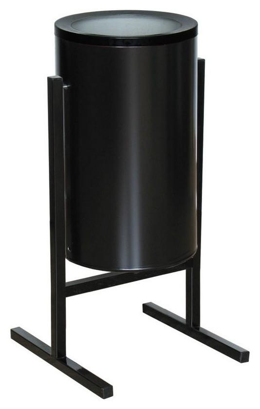 Урна стальная арт сл2-300 черная 300х510мм объем 36 л  NNB