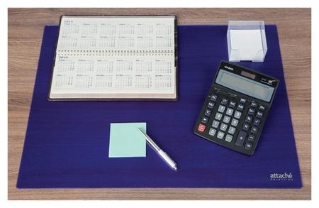 Коврик на стол Attache Selection 47,5x66см, прозрачный синий, 2808-501  Attache