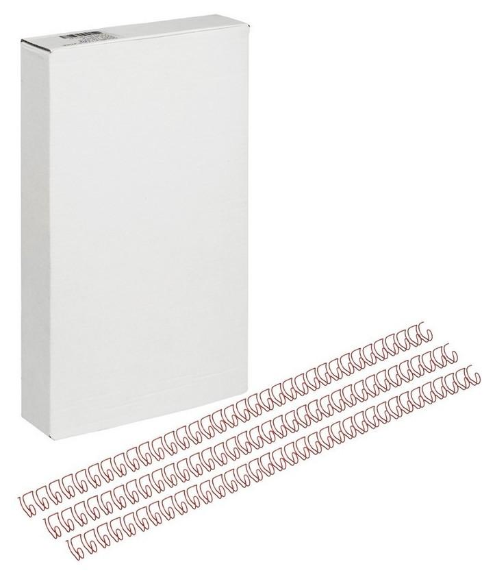 Пружины для переплета металлические Promega Office 7,9мм крас.100шт/уп.  ProMEGA