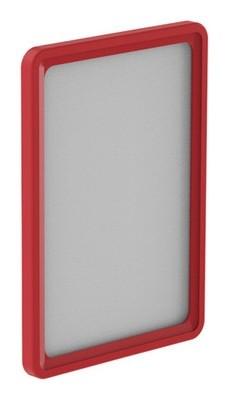 Рамка пластиковая А6, красный, 10шт/уп 102006-06  NNB