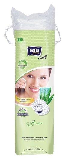Диски ватные Bella Cotton с экстр алоэ 100шт/уп (Bc-082-o100-015)  Bella
