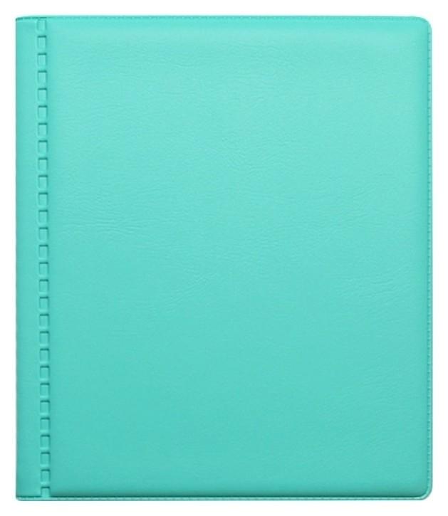Визитница настольная Attache на 24 визитки ПВХ цвет мята Attache