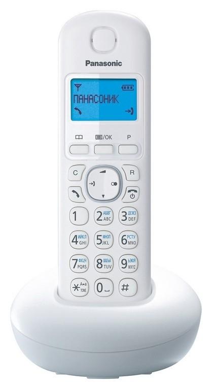 Радиотелефон Panasonic Kx-tgb210ruw белый  Panasonic
