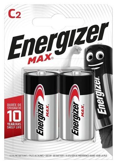 Батарейки Energizer Max с/e93 бл/2шт  Energizer