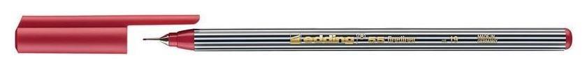 Ручка капилярная Edding 55/19 карминовый  Edding