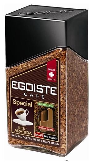 Кофе Egoiste Special растворимый,100г стекло  Egoiste