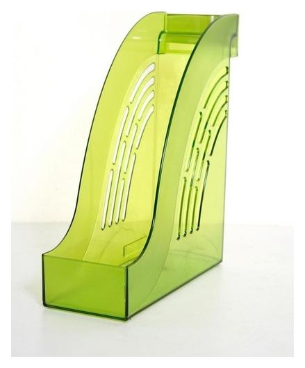Вертикальный накопитель Attache 95мм яркий офис тонир лайм  Attache