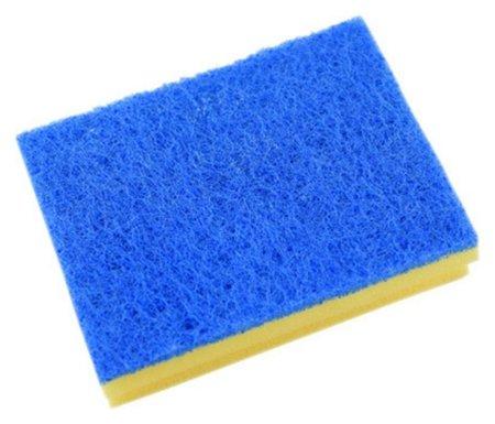 Губка Vileda для ванной (Синий абразив)13х16,5 см 535895  Vileda