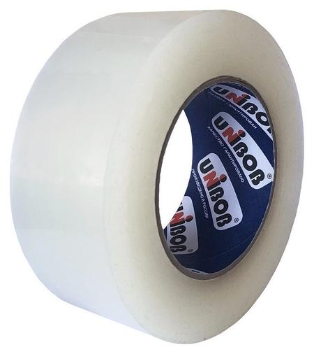 Клейкая лента упаковочная Unibob 48мм х 198м 45мкм прозрачная  Unibob