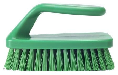 Щетка Haccper утюжок средней жесткости 152мм 4312 G зеленая Haccper