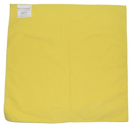 Салфетки хозяйственные Vermop Softy микровол. 40х40см 853605 желтые 3шт/уп  Vermop