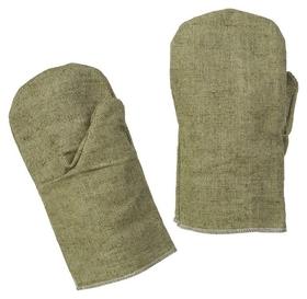 Рукавицы брезентовые с наладонником брезентовым (Пл.480 гр/м2) 10 пар/уп  NNB