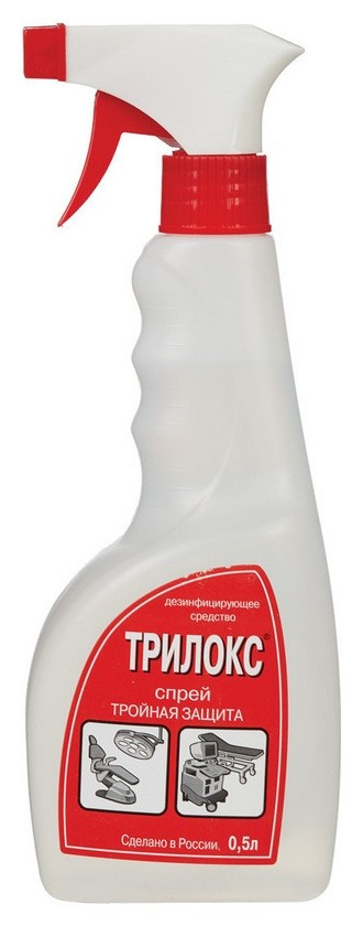 Дезинфицирующий спрей трилокс-спрей 500 мл  Трилокс
