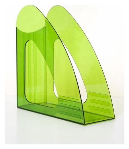 Вертикальный накопитель Attache 90мм прозрачный зеленый  Attache