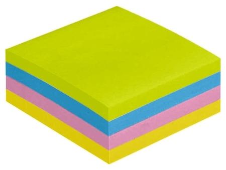 Блок-кубик Attache Selection куб 51х51, неон-2 4 цвета 400 л  Attache