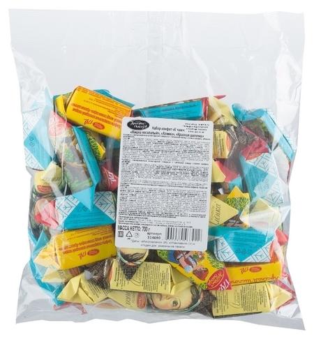 Набор конфет красный октябрь мишка косол.,аленка красн.шап, 700г 514690  Красный октябрь
