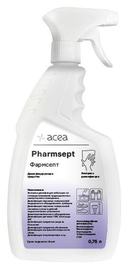 Дезинфицирующий спрей фармсепт 0,75 л, триггер  Acea