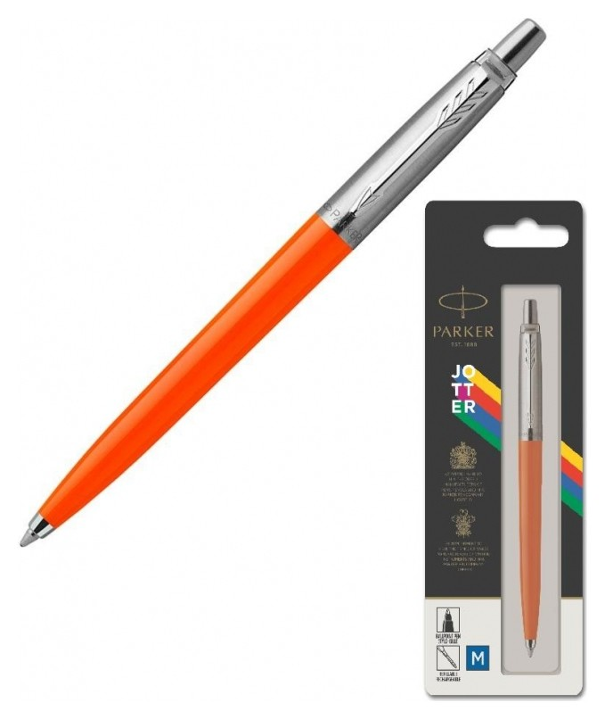 Ручка шариковая Parker Jotter Originals Orange CT син.стерж. блист. 2076054  Parker