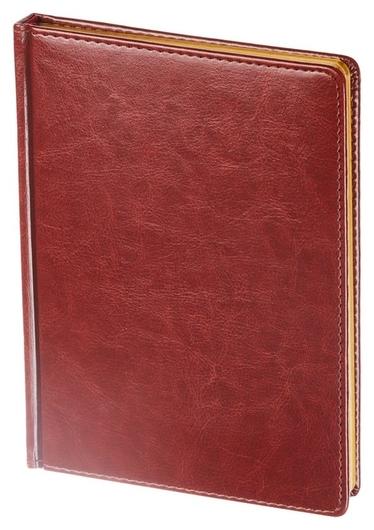 Ежедневник недатированный коричнев,а5,145х205мм,136л, Sidney Nebraska Альт