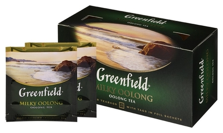 Чай Greenfield Milky Oolong 2гx25пак 1067-15  Greenfield