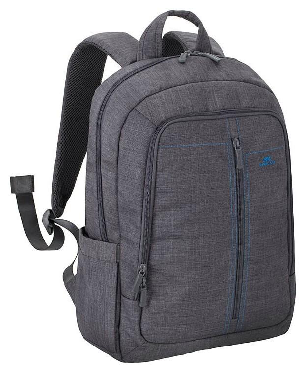 Рюкзак для ноутбука 15.6, Rivacase Alpendorf, серый, 7560 Grey  RIVACASE