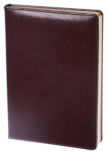 Ежедневник недатированный бордо, тв пер 140х200, 160л, Britannia I508/bordo  InFolio