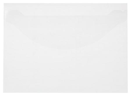 Папка-конверт на клапане 180 прозрачный 10 шт/уп  Attache