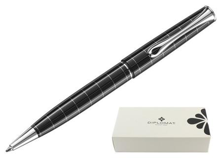 Ручка шариковая Diplomat Optimist Rhomb синий D20000209  Diplomat